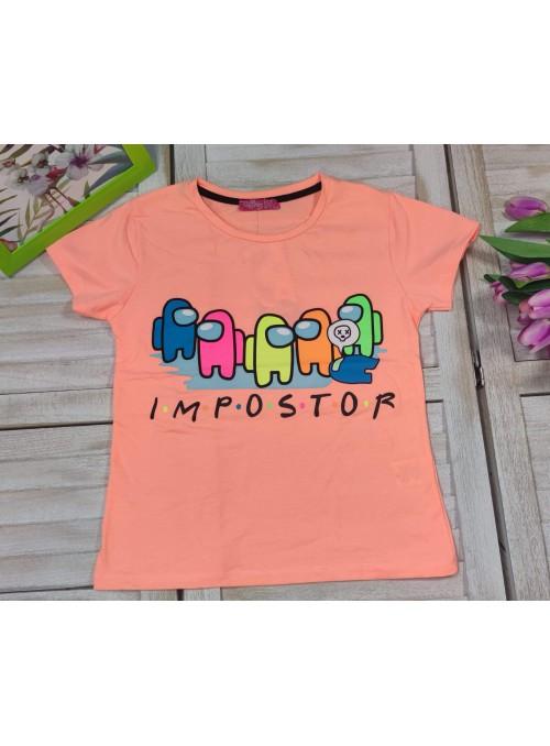 T-shirt AMONG US neon...