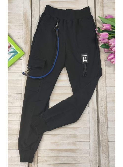 Spodnie bojówki z sznurkiem