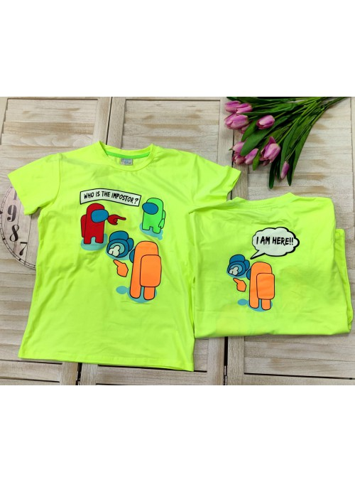 T-SHIRT AMONUG US LIMONKA